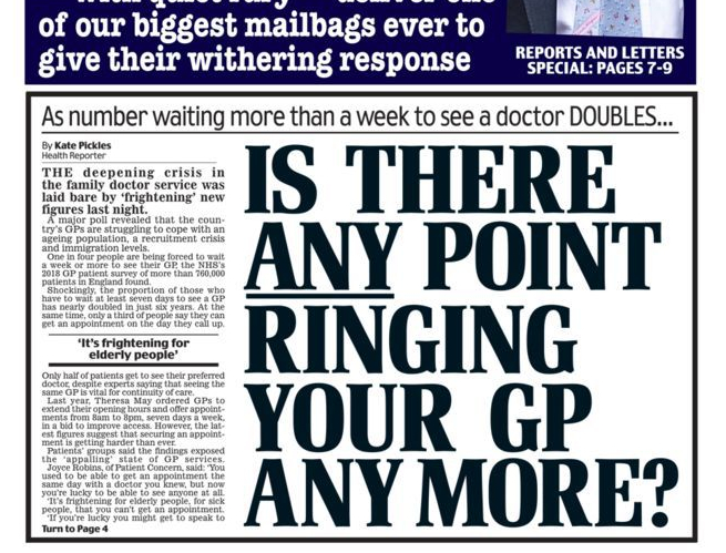 I have never felt more included by a Daily Mail front page than I do today