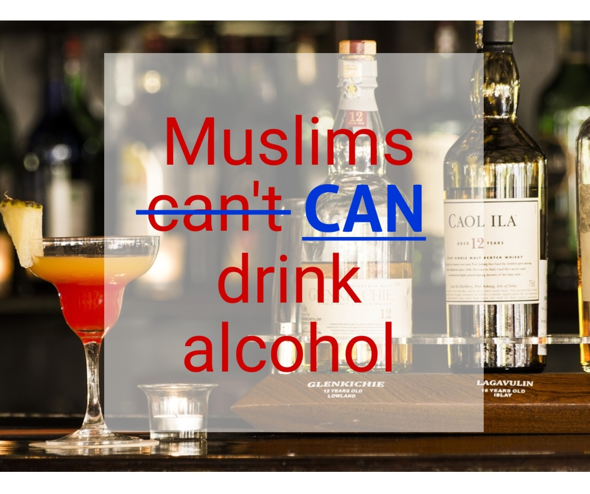 Muslims can drink alcohol, but they should not