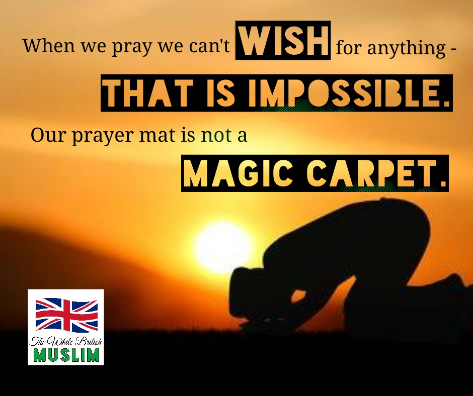 No, Muslims DON'T get five wishes a day
